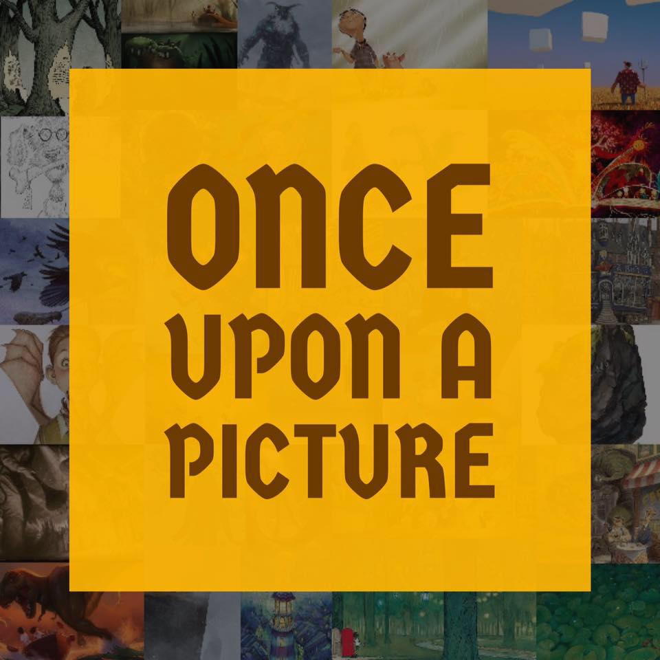 Image result for once upon a picture logo