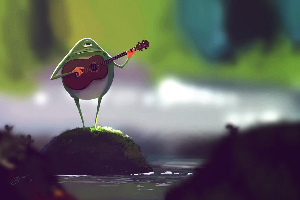 Cyclops Frog